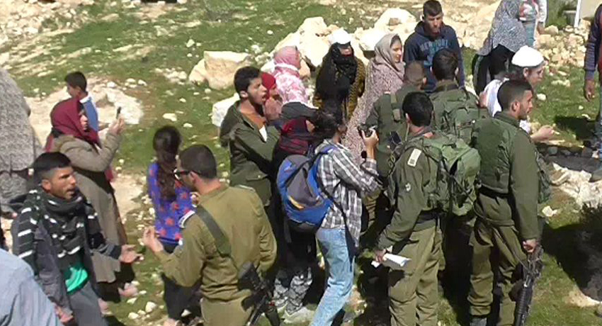 'Partners in crime': Israel settlers and soldiers attack Palestinians in West Bank village